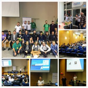 Global Azure Bootcamp Porto Alegre- Turma reunida ao final do evento